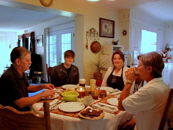 Dan, Andrew, Sylvia, Steve