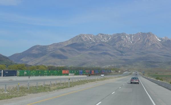 East of Ogden, Utah