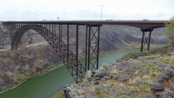 Perrine Bridge in Twin Falls