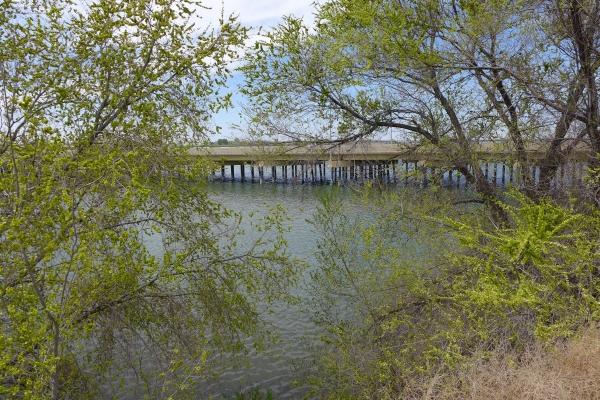 Snake River next to Heyburn RV Park